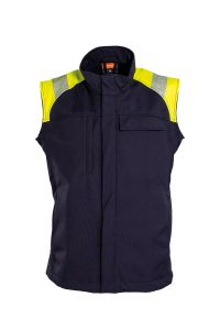 Softshell vest, metalfri